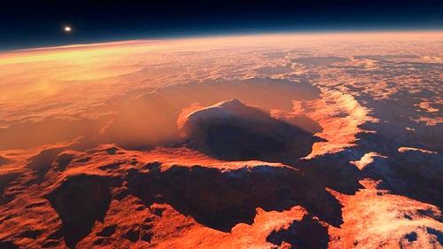 Ученые показали невероятный по красоте полет над Марсом. Видео
