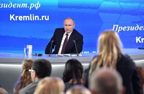 """О том, как вся """"свидомая бандерва"""" поголовно смотрела пресс-конференцию Путина В.В."""