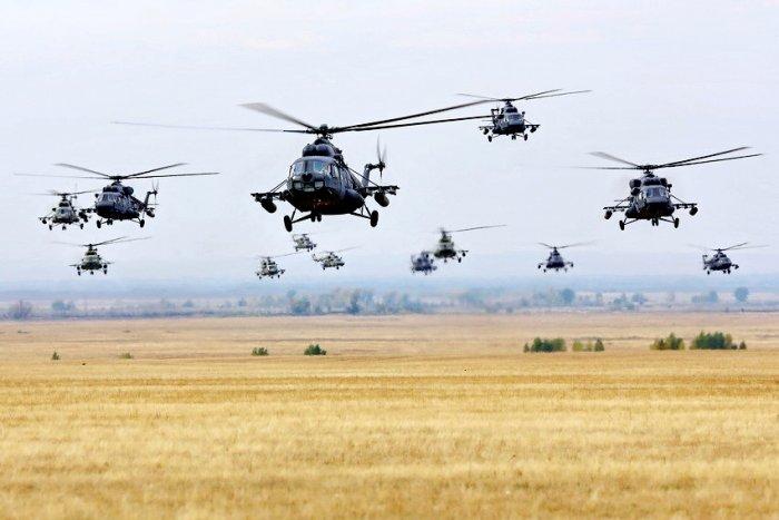 Крестный ход... на вертолетах. Ай да мы!